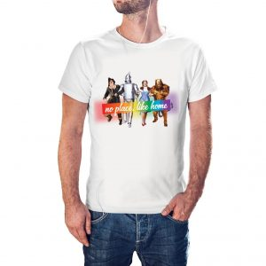 Camiseta LGBT No place Like Home Oz