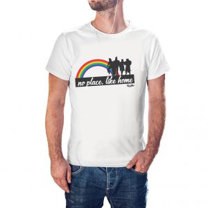 Camiseta LGBT No Place Like Home