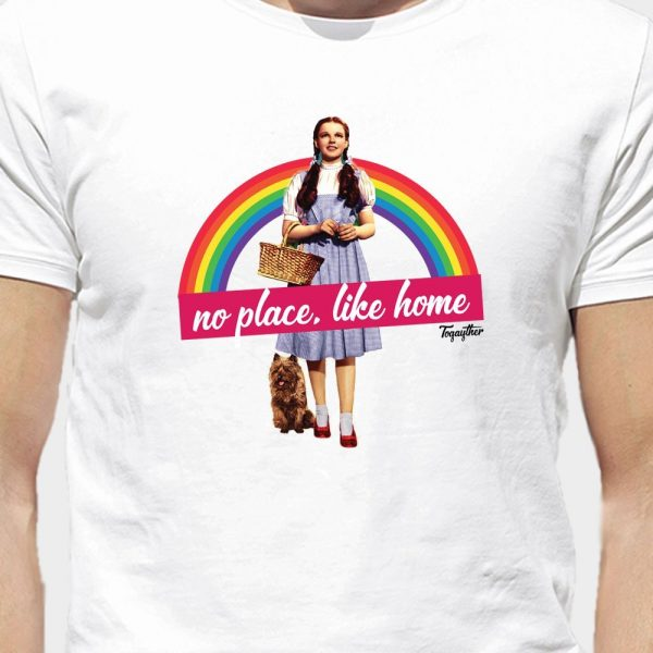 Camiseta LGBT Dorothy No Place Like Home