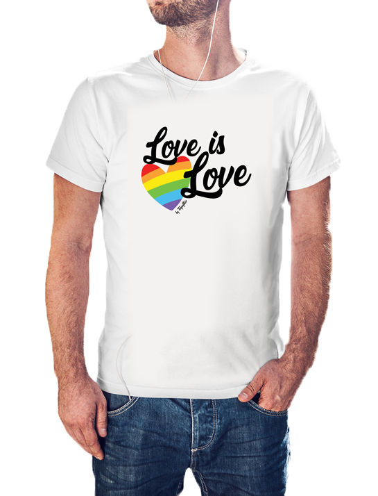Camiseta Love is love LGBT