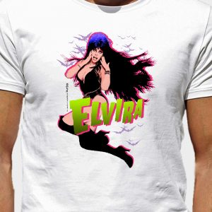 Camiseta Halloween Elvira by Curro Jackson